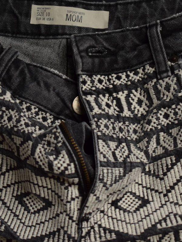 Blugi TOPSHOP (#7667) - SASSY STATION Fashion Marketplace - vinde și cumpără haine, pantofi, genti, accesorii pentru femei