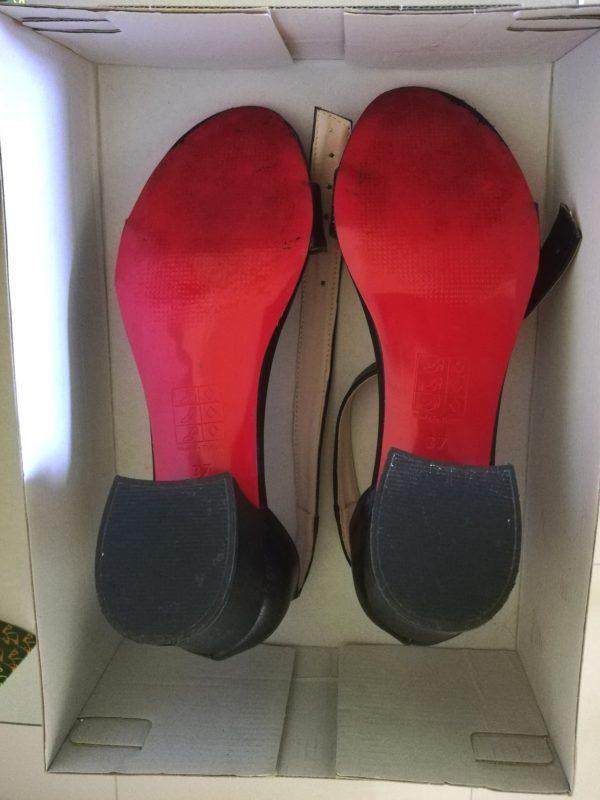 Sandale cu toc ALUDO (#15518) - SASSY STATION Fashion Marketplace - vinde și cumpără haine, pantofi, genti, accesorii pentru femei