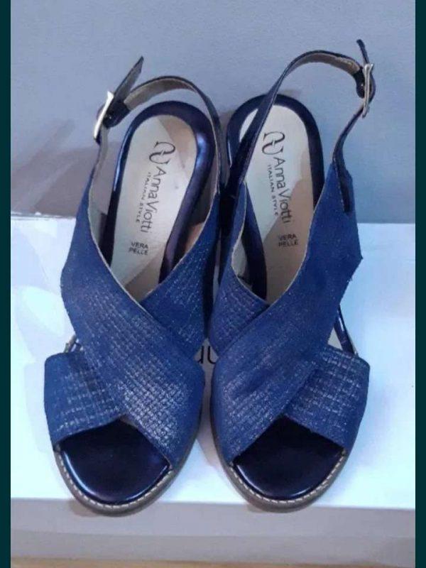 Sandale cu toc ANNA VIOTTI (#16383) - SASSY STATION Fashion Marketplace - vinde și cumpără haine, pantofi, genti, accesorii pentru femei