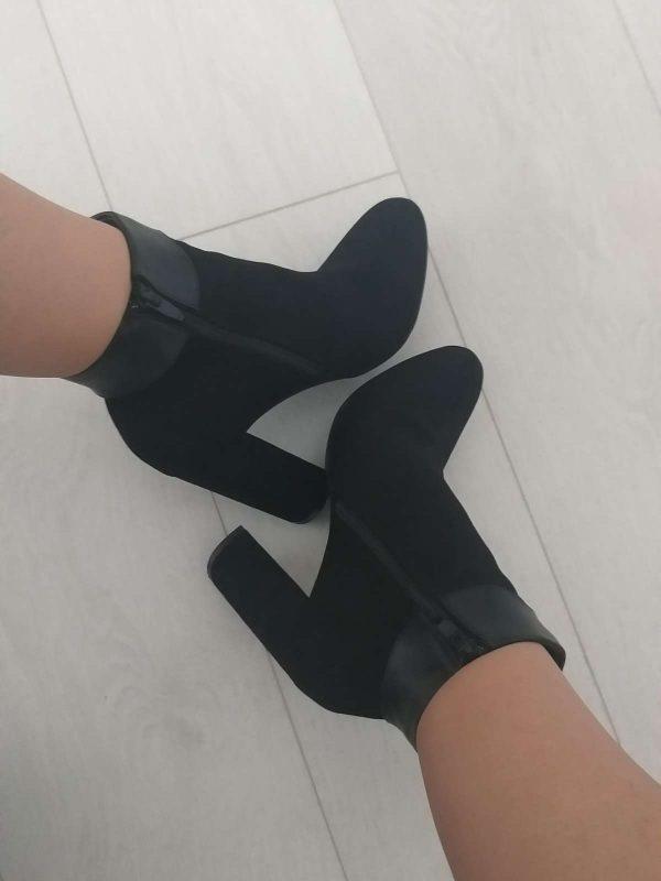 Ghete / botine TONII (#16460) - SASSY STATION Fashion Marketplace - vinde și cumpără haine, pantofi, genti, accesorii pentru femei