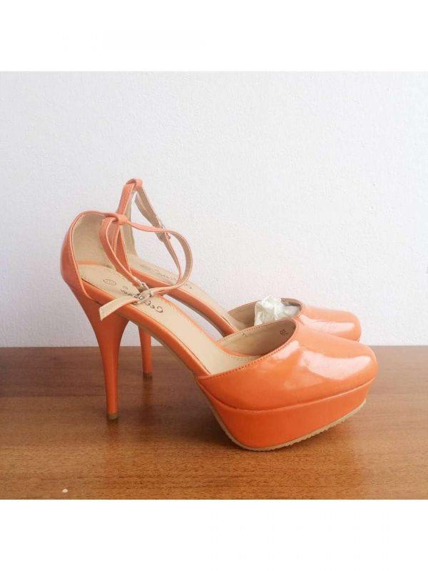 Sandale cu toc CELLINA (#16468) - SASSY STATION Fashion Marketplace - vinde și cumpără haine, pantofi, genti, accesorii pentru femei