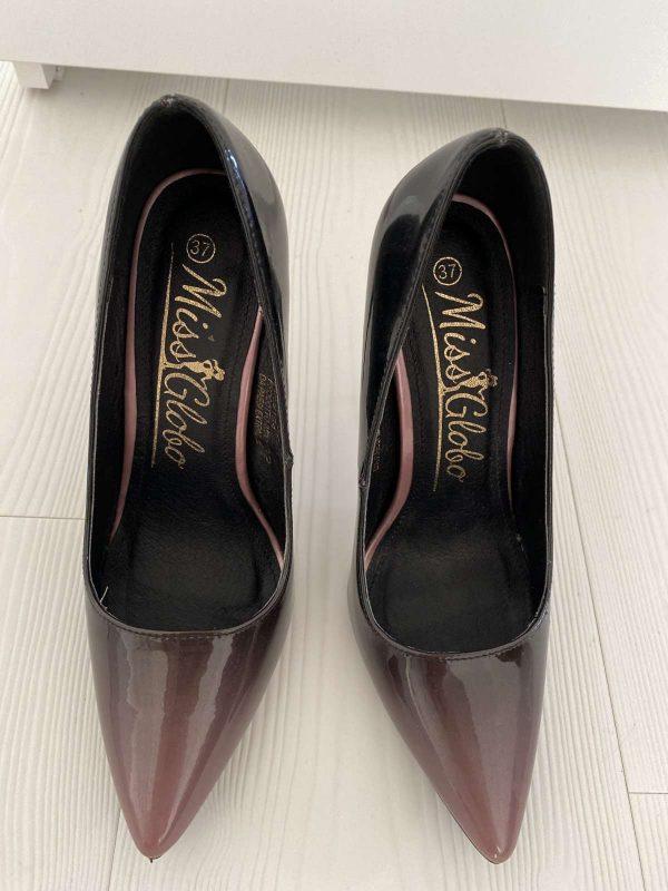 Pantofi cu toc MISS GLOBO (#16478) - SASSY STATION Fashion Marketplace - vinde și cumpără haine, pantofi, genti, accesorii pentru femei