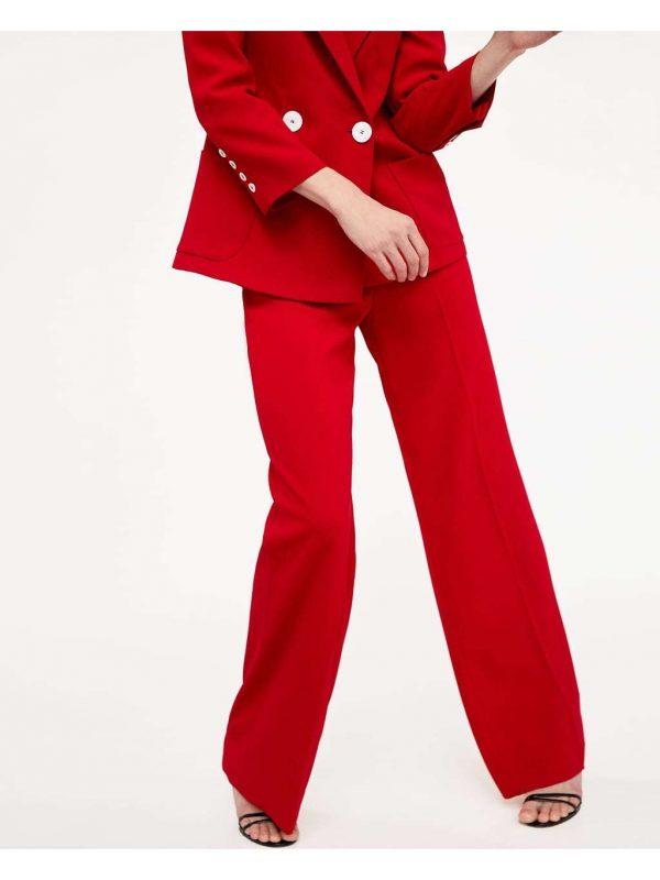 Pantaloni ZARA (#16498) - SASSY STATION Fashion Marketplace - vinde și cumpără haine, pantofi, genti, accesorii pentru femei