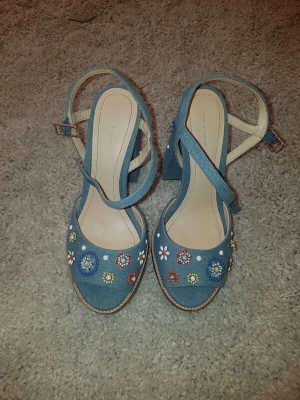 Sandale ZARA (#16548) - SASSY STATION Fashion Marketplace - vinde și cumpără haine, pantofi, genti, accesorii pentru femei