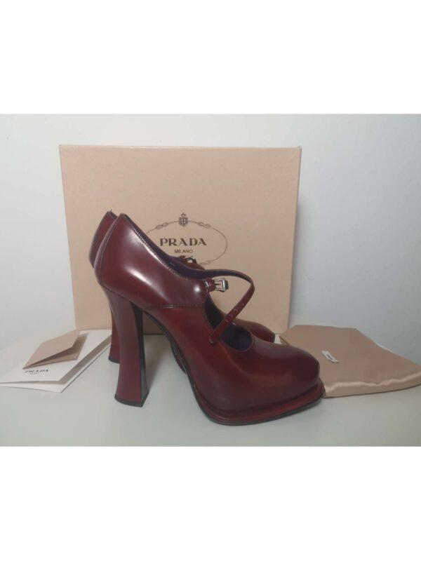 Pantofi cu toc PRADA (#16600) - SASSY STATION Fashion Marketplace - vinde și cumpără haine, pantofi, genti, accesorii pentru femei