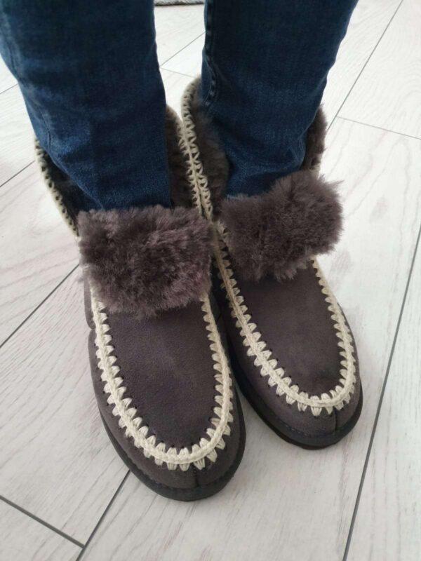 Ghete / botine OZLANA (#16658) - SASSY STATION Fashion Marketplace - vinde și cumpără haine, pantofi, genti, accesorii pentru femei