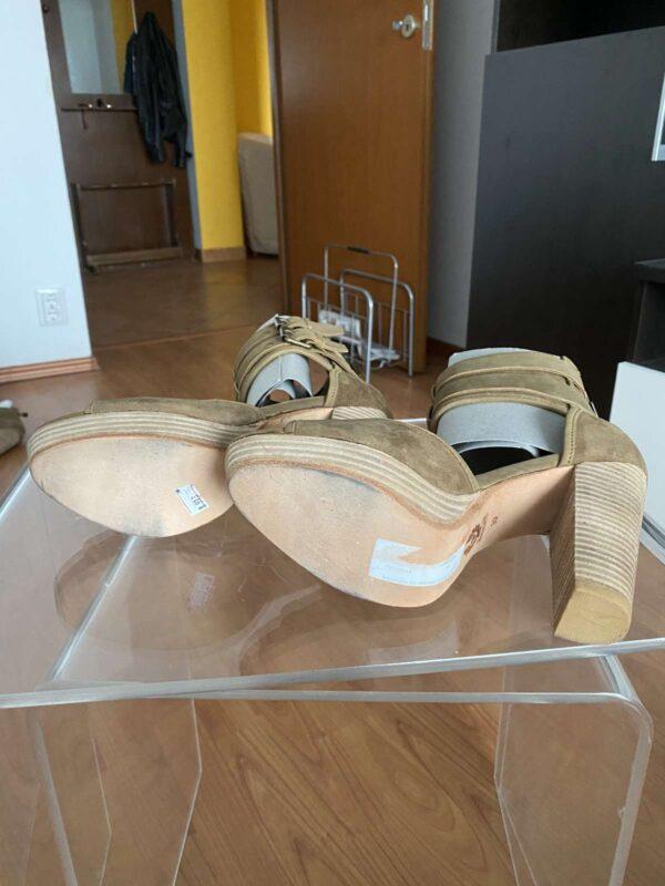 Sandale cu toc BELSTAFF (#16709) - SASSY STATION Fashion Marketplace - vinde și cumpără haine, pantofi, genti, accesorii pentru femei