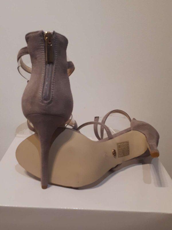 Sandale cu toc IDEAL SHOES (#16814) - SASSY STATION Fashion Marketplace - vinde și cumpără haine, pantofi, genti, accesorii pentru femei