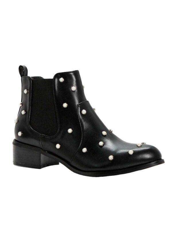 Ghete / botine BOOHOO (#17047) - SASSY STATION Fashion Marketplace - vinde și cumpără haine, pantofi, genti, accesorii pentru femei