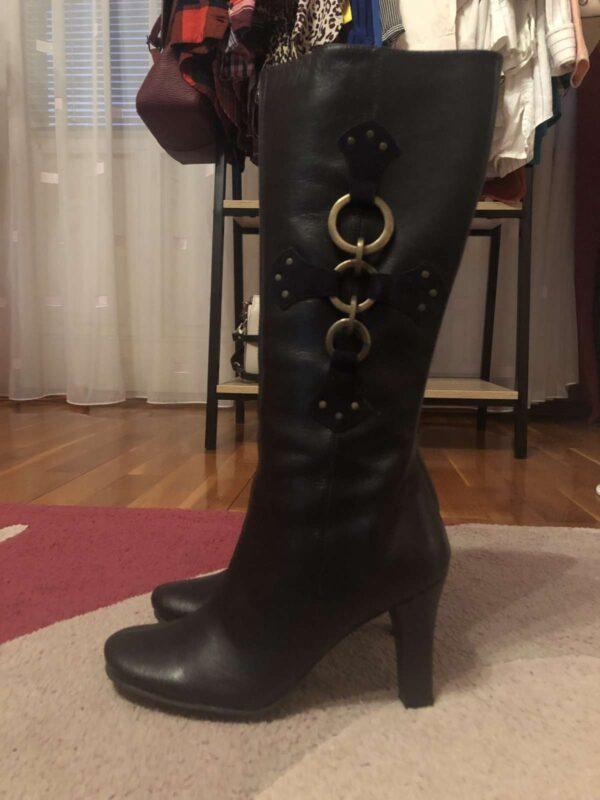 Cizme GIA MORETTI (#17200) - SASSY STATION Fashion Marketplace - vinde și cumpără haine, pantofi, genti, accesorii pentru femei