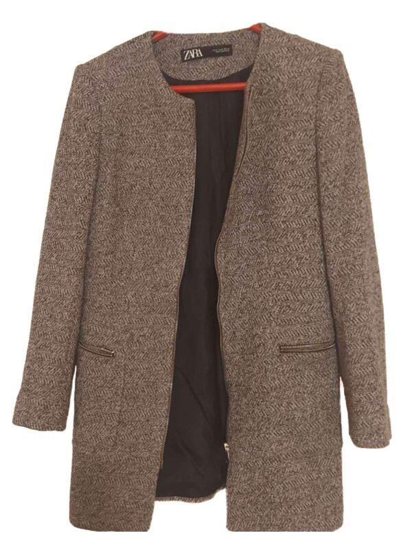 Palton ZARA (#17274) - SASSY STATION Fashion Marketplace - vinde și cumpără haine, pantofi, genti, accesorii pentru femei