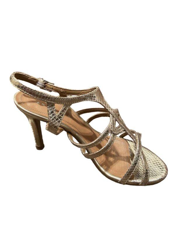 Sandale cu toc ANNA CORI (#17483) - SASSY STATION Fashion Marketplace - vinde și cumpără haine, pantofi, genti, accesorii pentru femei
